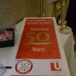 A photo of a 50th anniversary pamphlet